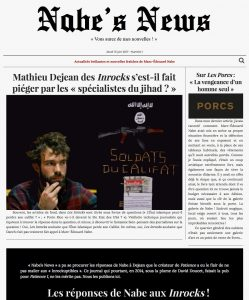 Nabe's News - 15 juin 2017 - Mathieu Dejean - Inrockuptibles