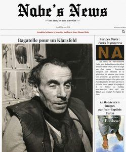 Nabe's News - Numéro 11 - Céline - Ariel Zenon - Yann Barte - Usul - Gérard Guégan - Schuhl - Romain Ventura