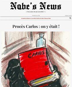 Nabe's News - Numéro 14 - Carlos - Isabelle Coutant Peyre - Marien Defalvard - Raffael Enault