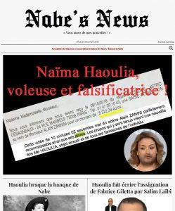Nabe's News - Numéro 18 - Naïma Haoulia - Salim Laïbi - Raphaël Enault - Gilets Jaunes - Frédéric Taddéï - Pacome Thiellement