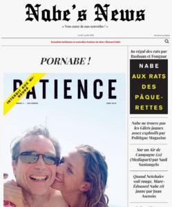 Nabe's News - Numéro 21 - Patience 4 - Pornabe - Rahsaan - Juan Asensio - Marie Peltier - Simenon - Taddei