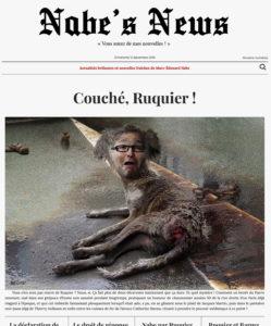 Nabe's News - Numéro 23 - Laurent Ruquier - François Gibault - Catherine Barma - Yann Moix - Lucette Destouches