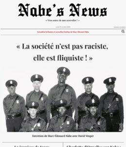 Nabe's News - Numéro 26 - George Floyd - Cédric Chouviat - Adama Traoré - Didier Raoult - Charlotte d'Ornellas - Pierre Cormary