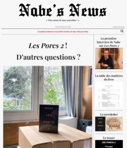 Nabe's News - Numéro 28 - Nabe's News - Numéro 28 Les Porcs 2 - Samuel Paty - Charlie Hebdo - Eugénie Bastié - Jonathann Daval - Thomas VDB