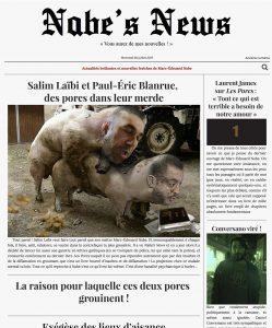 Nabe's News - Numéro 5 - Cacas de Nabe Salim Laïbi Paul-Êric Blanrue Laurent James Pacome Thiellement Daniel Conversano Arnaud Mazières